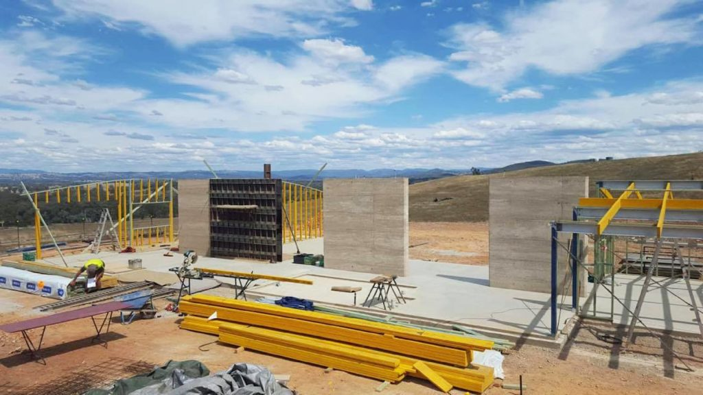 formwork-used-in-rammed-earth-wall-construction