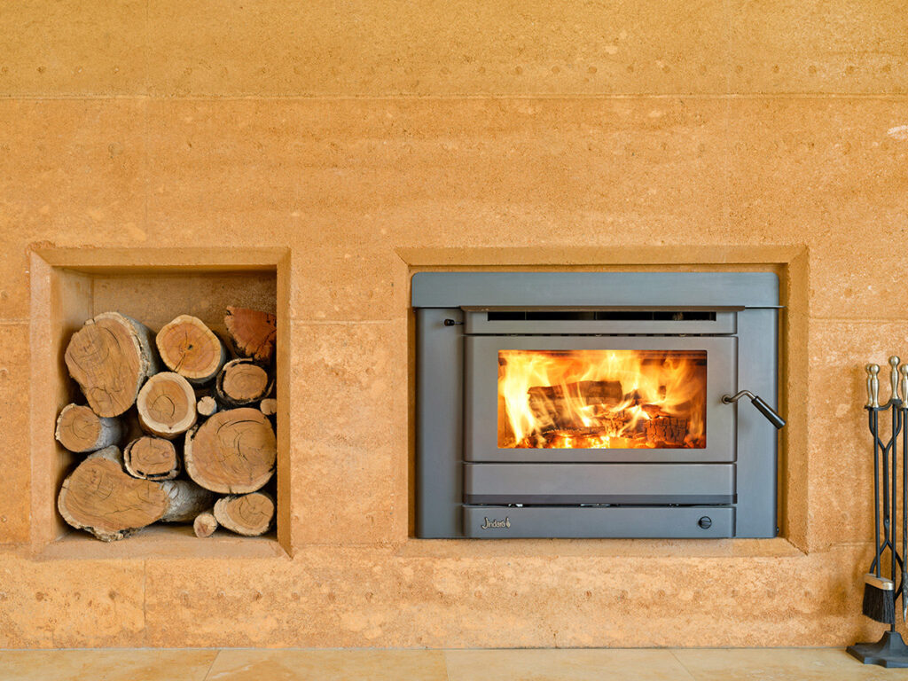 rammed-earth-texture-fireplace-feature