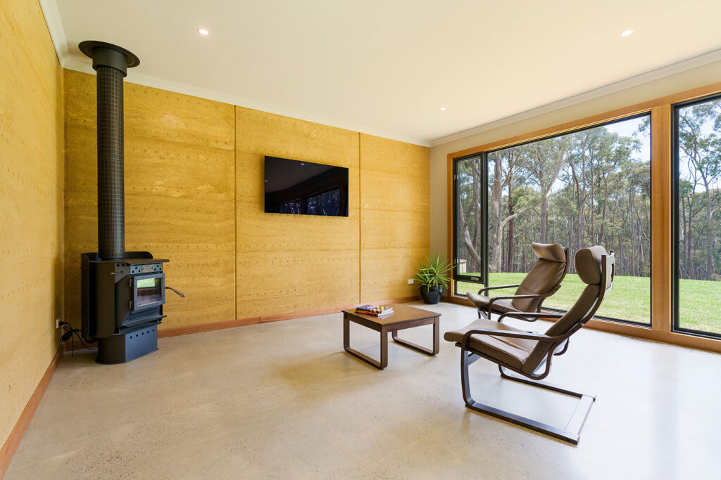 internal-rammed-earth-living-room