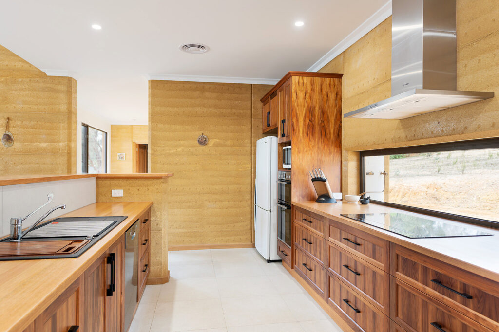 internal-rammed-earth-wood-kitchen