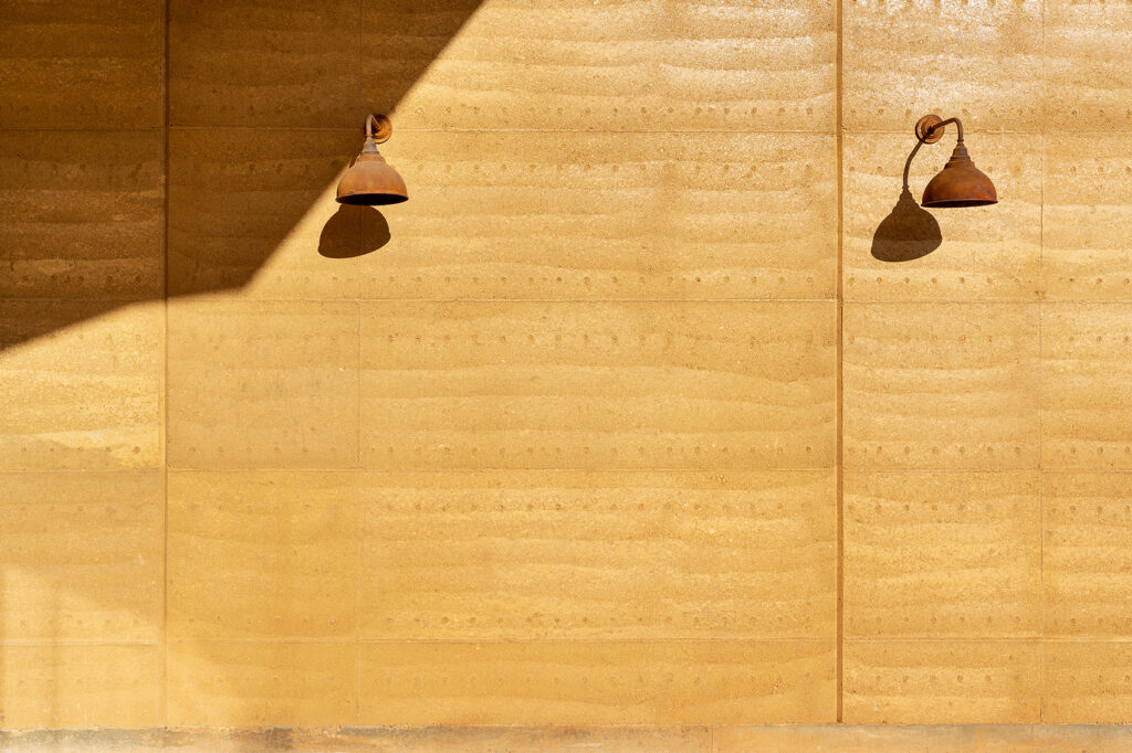 rammed-earth-texture-light-and-shade