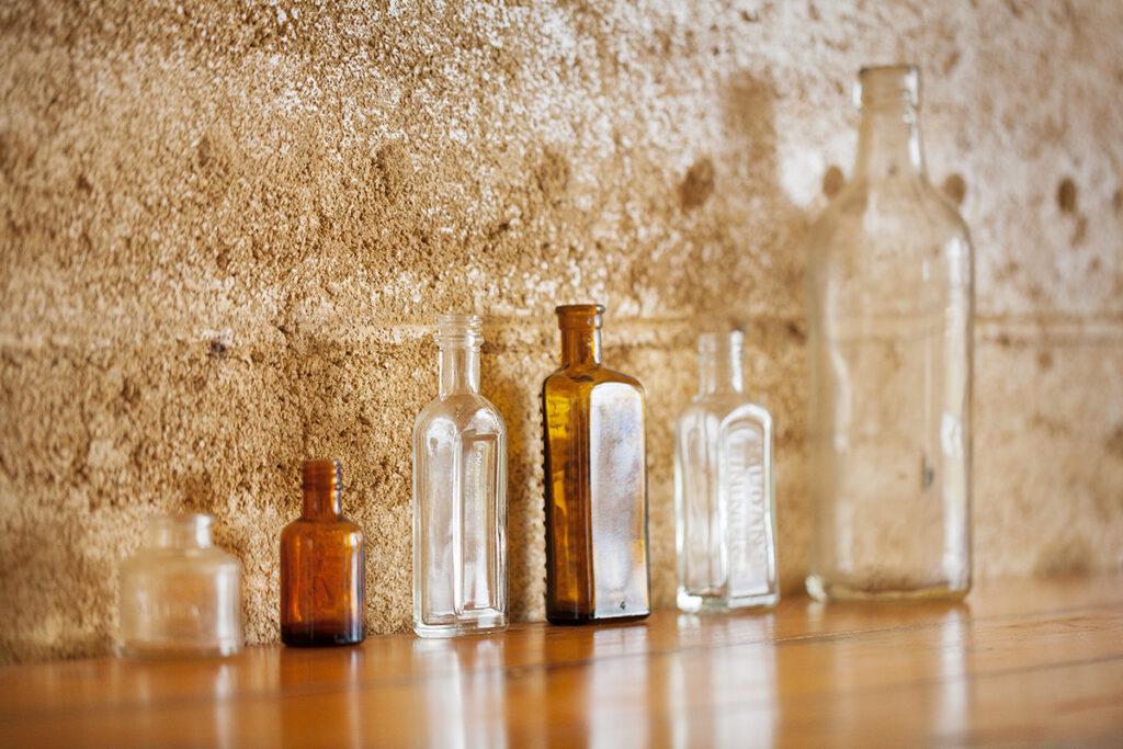 rammed-earth-texture-bottles