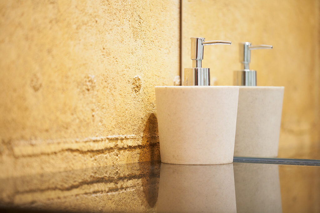 rammed-earth-texture-close-up-bathroom